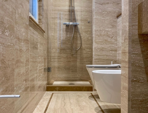 Bagno in Travertino