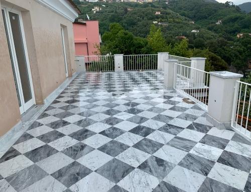 Terrazza Bianco Carrara